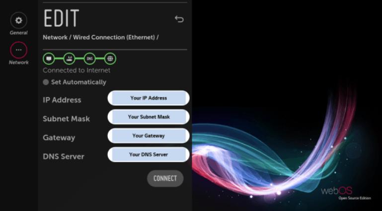 LG webOS Open Source Rasberry Pi