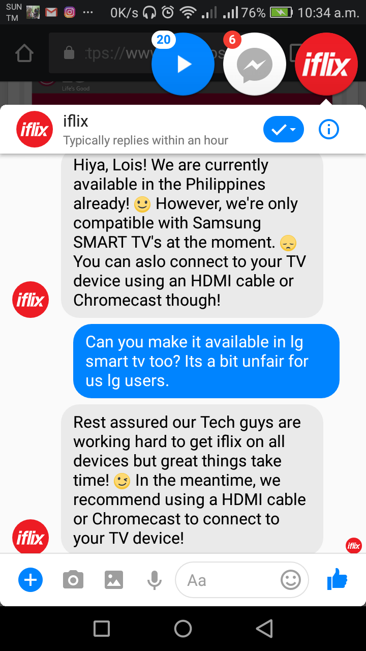 Request to add the IFLIX Apps - LG webOS Wish List - LG webOS