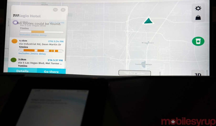 webos Auto Map