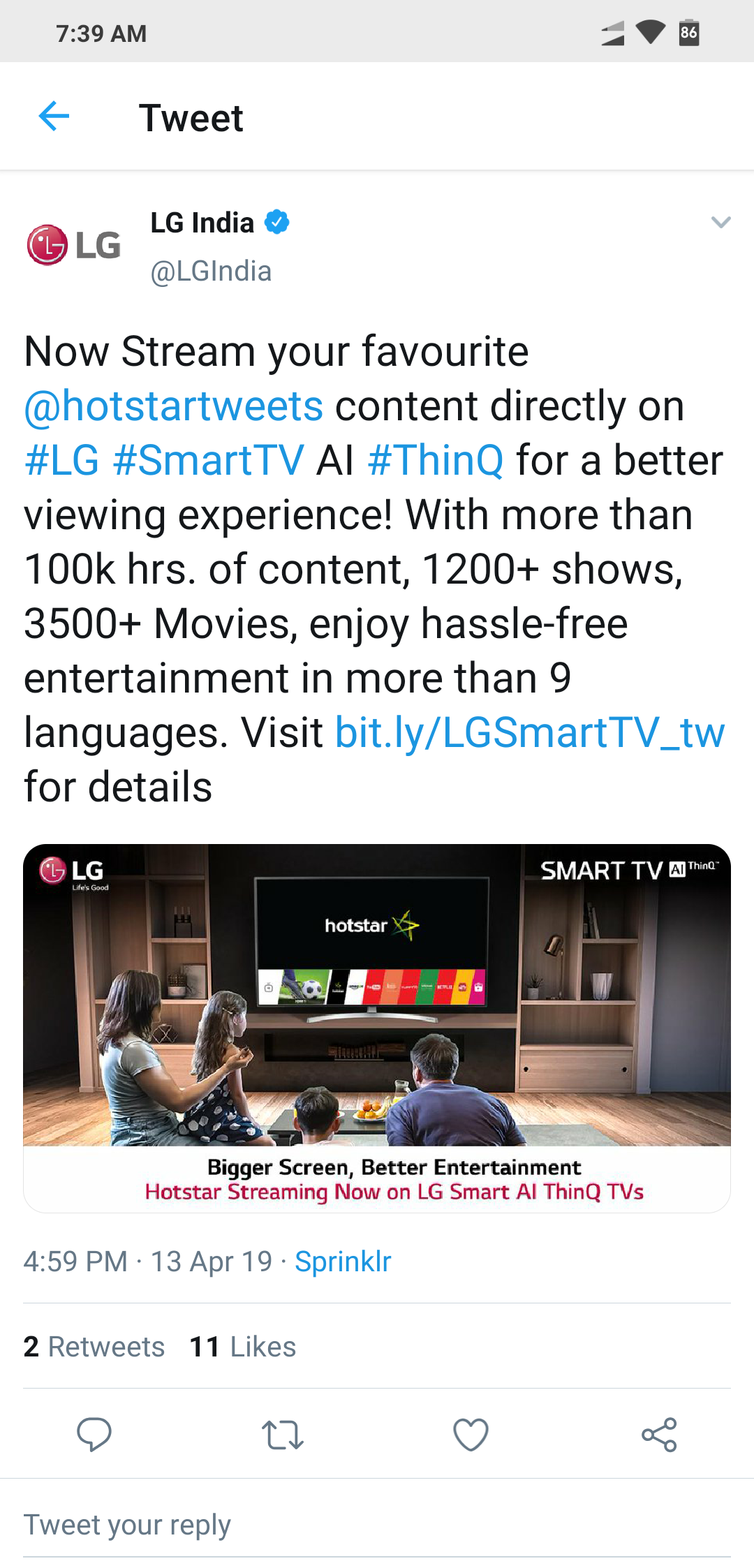Hotstar App For India - Page 2 - LG webOS Smart TV Questions