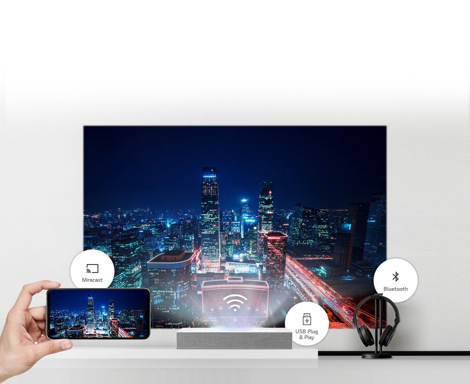 LG HU85LA 4K short-throw laser projector Discussion - LG webOS Smart