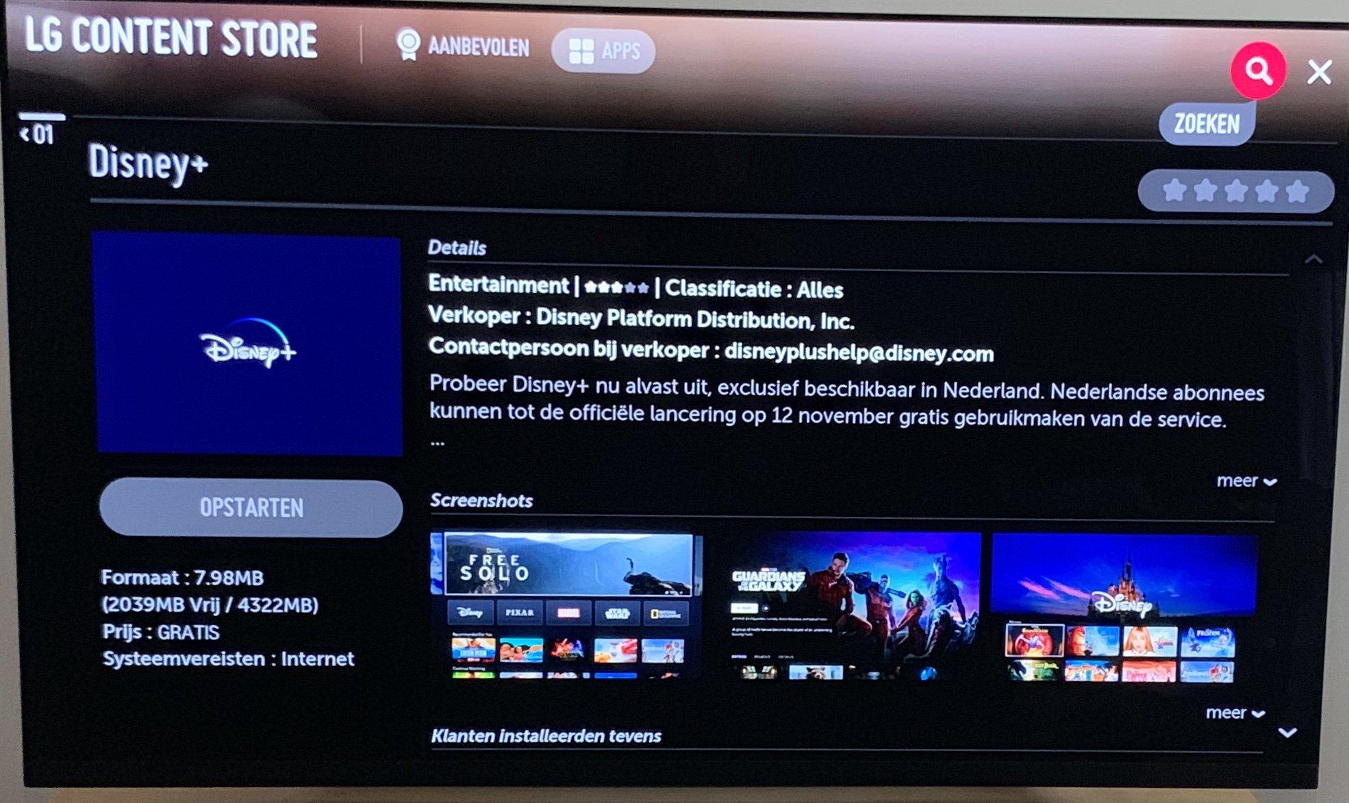 Disney Plus on LG webOS TVs - LG webOS Wish List - LG webOS
